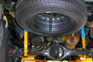 Bilstein Shocks Fitted To The Toyota Hilux
