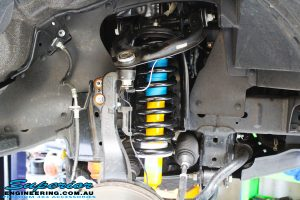 Left front inside view of the EFS Coil with Bilstein Strut
