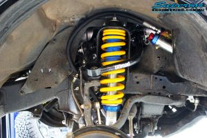 Left front inside view of the Coil Spring and Superior Remote Reservoir Strut
