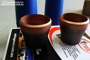 Close up shot of the Superior Drop Out Cones being prepped to be fitted