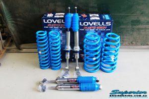 Lovells GVM 200 Series Landcruiser Kit shot